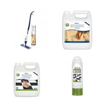 Bona spray mop csomag fapadlókhoz